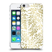 Official Caitlin Workman Organic Foliage Gold Hard Back Case For Apple Iphone 5 / 5S / Se
