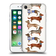 Official Cat Coquillette Animals Dachshunds Soft Gel Case For Apple Iphone 7