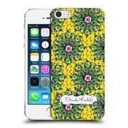 Official Frida Kahlo Purple Florals Mandala Hard Back Case For Apple Iphone 5 / 5S / Se