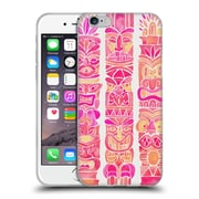 Official Cat Coquillette Watercolour Illustrations 2 Pink Tiki Totems Soft Gel Case For Apple Iphone 6 / 6S