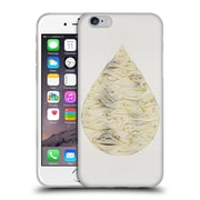 Official Cat Coquillette Watercolour Illustrations 2 Gold Water Drop Soft Gel Case For Apple Iphone 6 / 6S