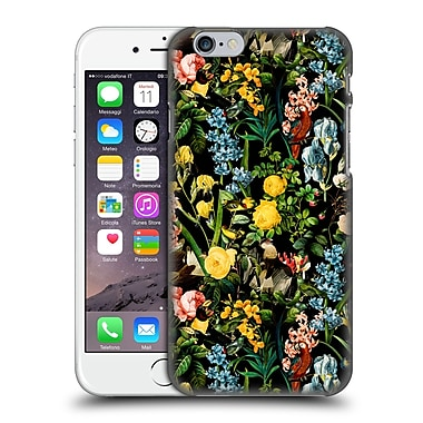 Official Burcu Korkmazyurek Birds And Floral Green Hard Back Case For Apple Iphone 6 / 6S