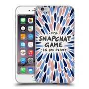Official Cat Coquillette Quotes Typography 5 Snapchat Pantone Soft Gel Case For Apple Iphone 6 Plus / 6S Plus