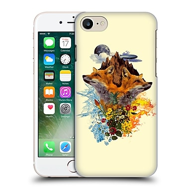 Official Burcu Korkmazyurek Animals Fox Hard Back Case For Apple Iphone 7