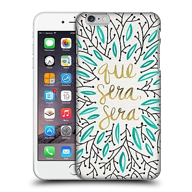 Official Cat Coquillette Quotes Typography 5 Whatever Will Be Turquoise Gold Hard Back Case For Apple Iphone 6 Plus / 6S Plus