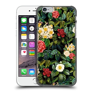 Official Burcu Korkmazyurek Floral 2 Night Forest Viii Hard Back Case For Apple Iphone 6 / 6S