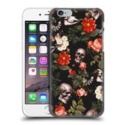 Official Burcu Korkmazyurek Skulls Floral Hard Back Case For Apple Iphone 6 / 6S