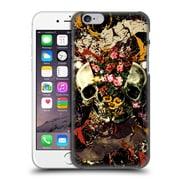 Official Burcu Korkmazyurek Skulls Floral Ii Hard Back Case For Apple Iphone 6 / 6S