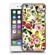 Official Burcu Korkmazyurek Floral Summer Botanical X Hard Back Case For Apple Iphone 6 / 6S