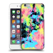Official Caleb Troy Vivid Blacklight Neon Swirl Hard Back Case For Apple Iphone 6 Plus / 6S Plus