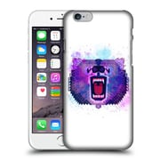 Official Chobopop Animals Lilac Geometric Bear Hard Back Case For Apple Iphone 6 / 6S