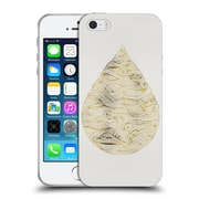 Official Cat Coquillette Watercolour Illustrations 2 Gold Water Drop Soft Gel Case For Apple Iphone 5 / 5S / Se