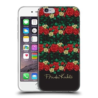 Official Frida Kahlo Roses Stripes Soft Gel Case For Apple Iphone 6 / 6S