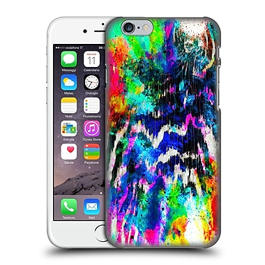 Official Caleb Troy Vivid Technicolour Zebra Hard Back Case For Apple Iphone 6 / 6S