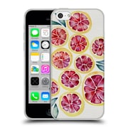 Official Cat Coquillette Fruits & Veggies Grapefruits Soft Gel Case For Apple Iphone 5C