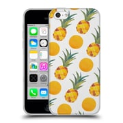 Official Cat Coquillette Fruits & Veggies Pineapple Dots Soft Gel Case For Apple Iphone 5C