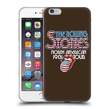 Official The Rolling Stones Key Art North American Tour 1981 Soft Gel Case For Apple Iphone 6 Plus / 6S Plus