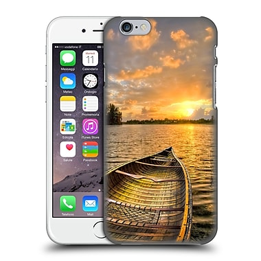 Official Celebrate Life Gallery Beaches Canoeing At Sunrise Hard Back Case For Apple Iphone 6 / 6S