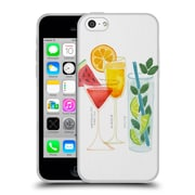 Official Cat Coquillette Mixed Drinks 3 Summer Drinks Soft Gel Case For Apple Iphone 5C