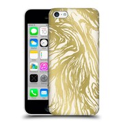 Official Caitlin Workman Patterns Marble Gold Hard Back Case For Apple Iphone 5C