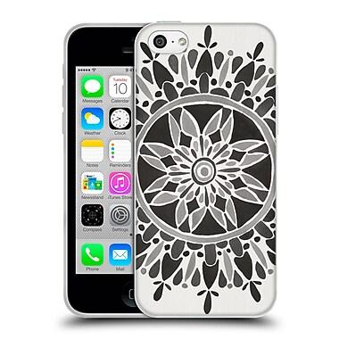 Official Cat Coquillette Mandala Black Soft Gel Case For Apple Iphone 5C