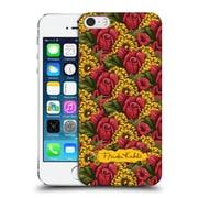 Official Frida Kahlo Red Florals Pattern Hard Back Case For Apple Iphone 5 / 5S / Se