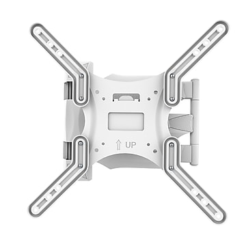 """Kanto M300W Wall Mount for Flat Panel Display, 55"""" Screen Support, 80 lb Load Capacity, White"""