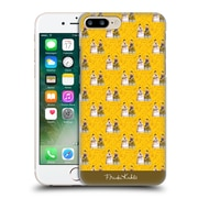 Official Frida Kahlo Self-Portraits Pattern Yellow Hard Back Case For Apple Iphone 7 Plus