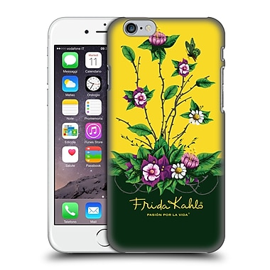 Official Frida Kahlo Purple Florals Shrub Hard Back Case For Apple Iphone 6 / 6S
