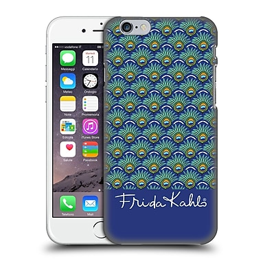 Official Frida Kahlo Peacock Feather Pattern Hard Back Case For Apple Iphone 6 / 6S