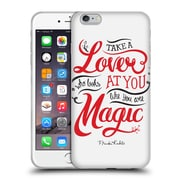 Official Frida Kahlo Typography Lover White Soft Gel Case For Apple Iphone 6 Plus / 6S Plus