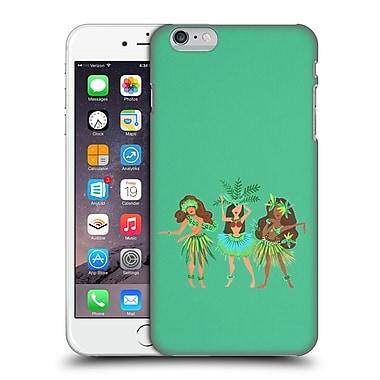 Official Cat Coquillette Watercolour Illustrations Luau Girls Mint Hard Back Case For Apple Iphone 6 Plus / 6S Plus