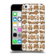 Official Cat Coquillette Patterns 2 Sepia Victorian Lounge Soft Gel Case For Apple Iphone 5C
