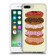 Official Cat Coquillette Sweets Stacked Donuts Cream Soft Gel Case For Apple Iphone 7 Plus