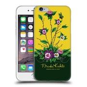 Official Frida Kahlo Purple Florals Shrub Soft Gel Case For Apple Iphone 6 / 6S