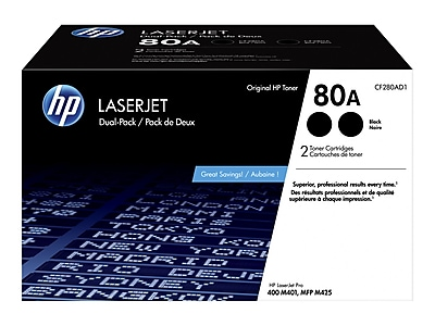 Inksters Remanufactured MICR Toner Cartridge Replacement for HP CF280A Black 2,700 Pages