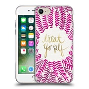 Official Cat Coquillette Treat Yo Self Pink Soft Gel Case For Apple Iphone 7