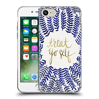 Official Cat Coquillette Treat Yo Self Navy Soft Gel Case For Apple Iphone 7