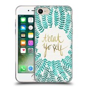 Official Cat Coquillette Treat Yo Self Mint Soft Gel Case For Apple Iphone 7