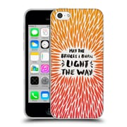 Official Cat Coquillette Quotes Typography 2 Bridges I Burn Orange Soft Gel Case For Apple Iphone 5C