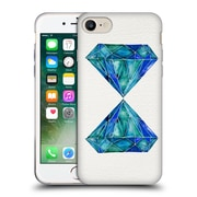 Official Cat Coquillette Watercoloured Gems Aquamarine Soft Gel Case For Apple Iphone 7