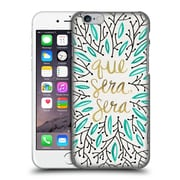 Official Cat Coquillette Quotes Typography 5 Whatever Will Be Turquoise Gold Hard Back Case For Apple Iphone 6 / 6S