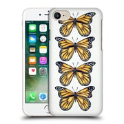 Official Cat Coquillette Insects Orange Butterfly Hard Back Case For Apple Iphone 7