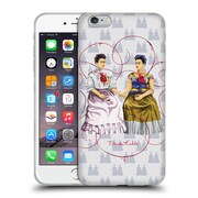 Official Frida Kahlo Self-Portraits White Background Soft Gel Case For Apple Iphone 6 Plus / 6S Plus