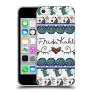 Official Frida Kahlo Peacock Ribbon Soft Gel Case For Apple Iphone 5C