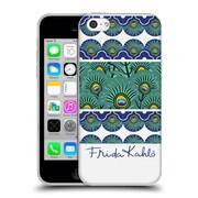 Official Frida Kahlo Peacock Stripes Soft Gel Case For Apple Iphone 5C