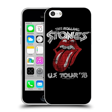 Official The Rolling Stones Key Art Us Tour 78 Soft Gel Case For Apple Iphone 5C