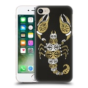 Official Cat Coquillette Insects Black Gold Scorpion Hard Back Case For Apple Iphone 7