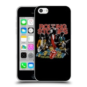 Official The Rolling Stones Key Art 78 Us Tour Vintage Soft Gel Case For Apple Iphone 5C
