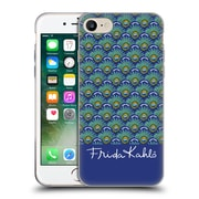 Official Frida Kahlo Peacock Feather Pattern Soft Gel Case For Apple Iphone 7